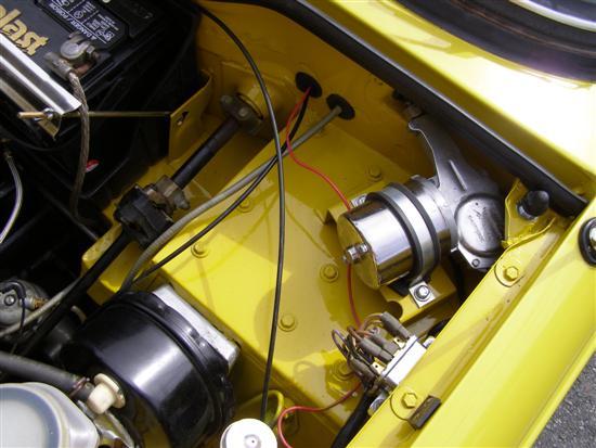 triumph tr6 fuse box location starter relay